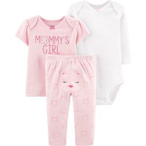 NWT Child of Mine by Carter's 0-3 Mths 3 Piece Set